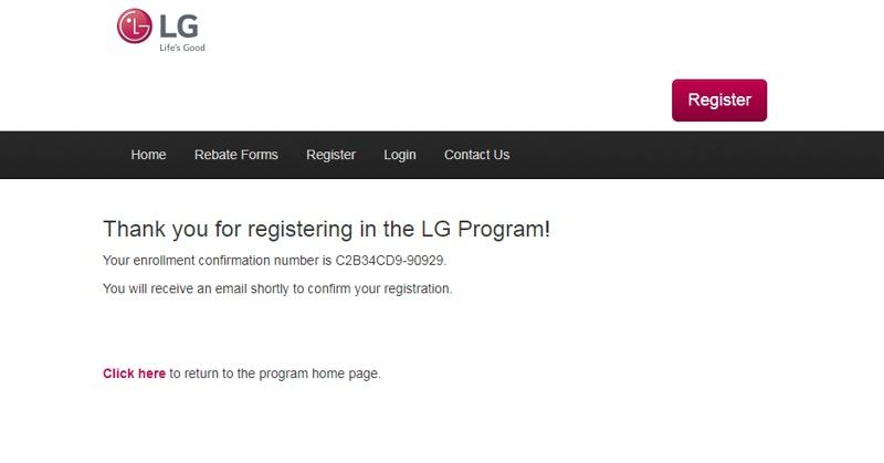 BigCentric com Appliances - LG Rebate Help Information