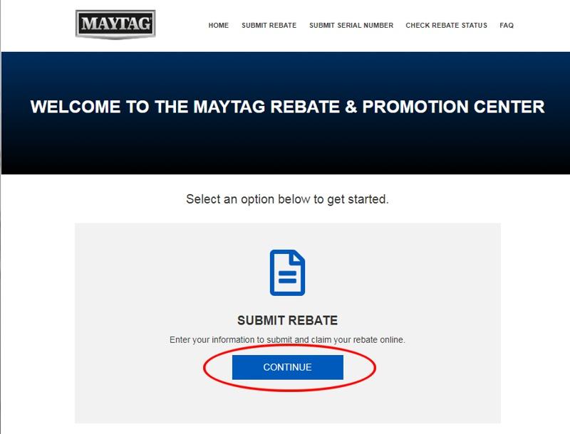 Check Rebate Status >> Bigcentric Com Appliances Maytag Rebate Help Information